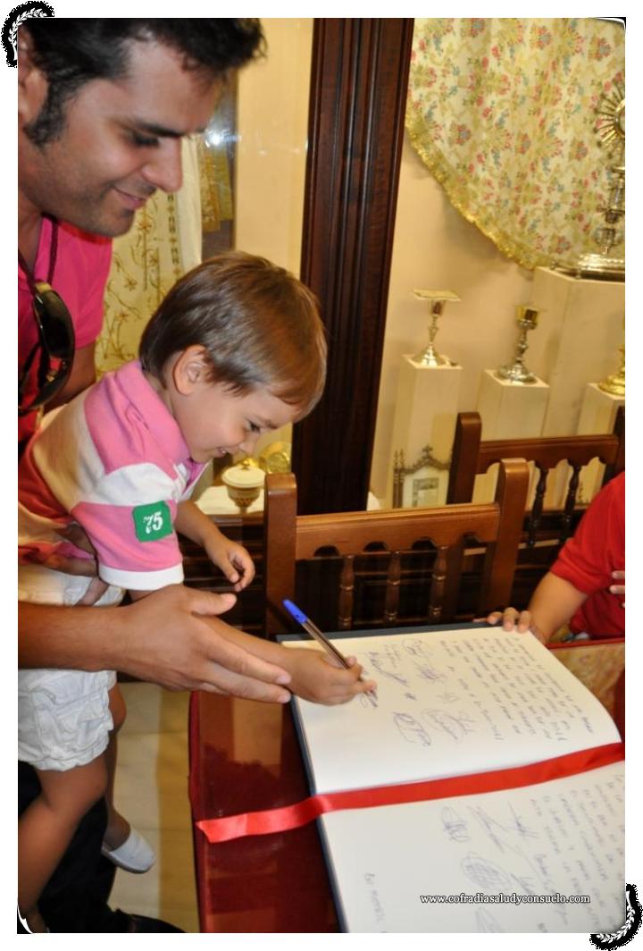 Firma de un pequeño de Pasión